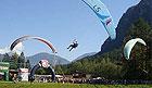 Tandemový paragliding na závěsném padáku